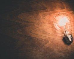 Światło LED w biurze